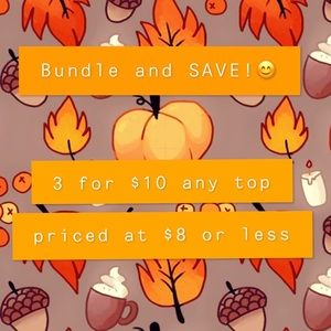 🍁Bundle and SAVE!! Happy fall shopping 🍁